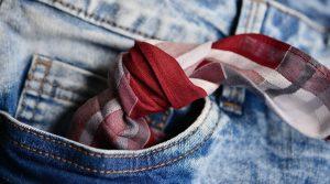 Knoten im Taschentuch
