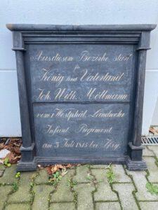 Gedenktafel für Johann Wilhelm Möllmann